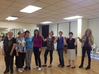 Senior Israeli Folk Dance Intermediate Level II