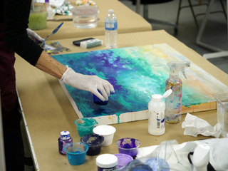 Acrylic Painting Thursday Morning