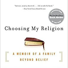 Book Club at the Sperber: Choosing My Religion: A Memoir of a Family Beyond Belief