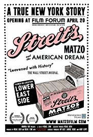Movie Matinees at the Sperber: Streit's: Matzo and the American Dream